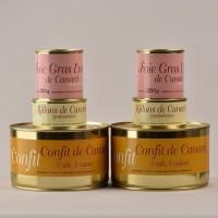 Colis canard sans carcasse - 6 boites - 2940g