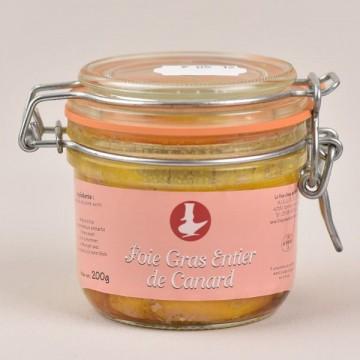 Foie gras de canard entier - 200g