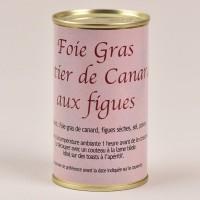 Foie gras de canard entier aux figues - 190g
