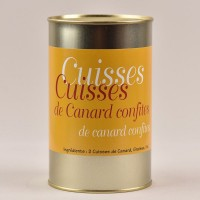 Confit de canard Tradition - 2 cuisses - 1000g
