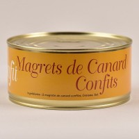 Confit de canard Tradition - 2 magrets - 800g