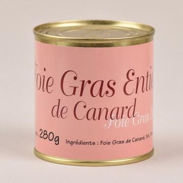 Foie gras de canard entier - 280g