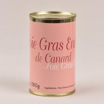 Foie gras de canard entier - 380g